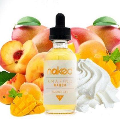 E-liquid Naked 100 Polar Amazing Mango 60 ml